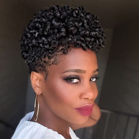tapered fro for black women finger coil hairstyles hair