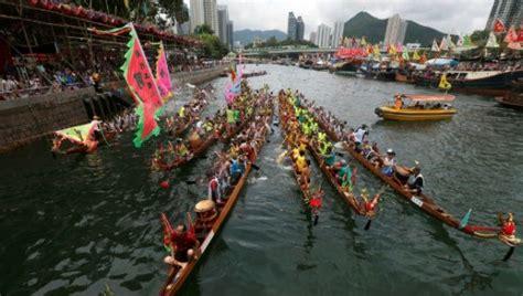 dragon boat festival news hong kong s dragon boat festival races kick off news