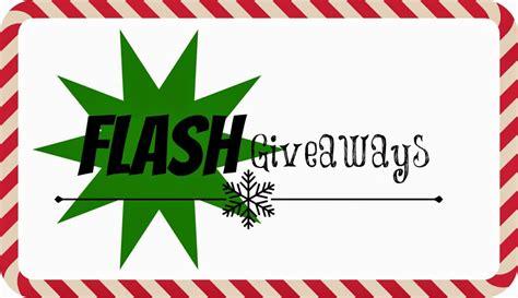 Flash Giveaway - 12 weeks of christmas giveaways