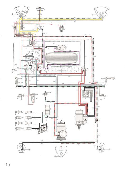 Wrg 3124 1978 Vw Super Beetle Engine Diagrams