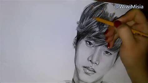 N Drawing Vixx by Speed Drawing N Cha Hakyeon 엔 차학연 From Vixx 빅스 Kpop