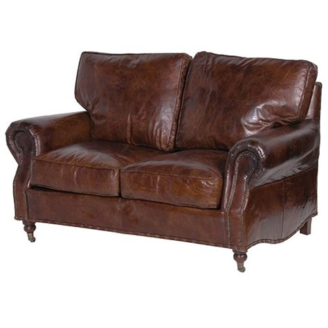Leather Settee Sofa by Vintage Leather 2 Seater Sofa
