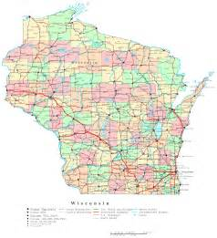 wisconsin map wisconsin printable map