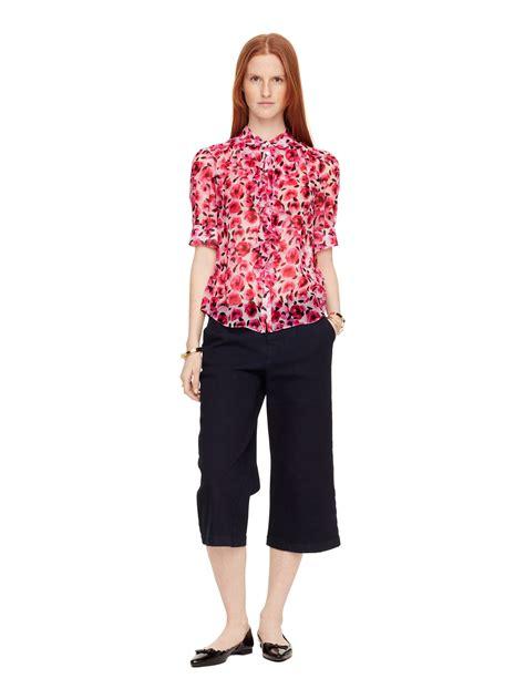 Dress Preloved Second Branded Murah 481 kate spade ruffle blouse collar blouses