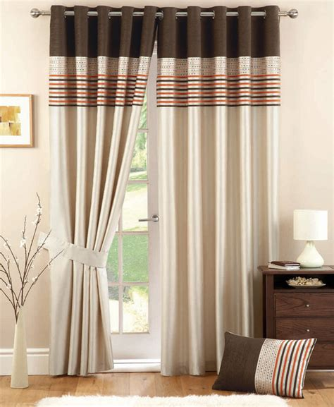 chocolate curtains with valance chocolate and cream curtains best curtains design 2016