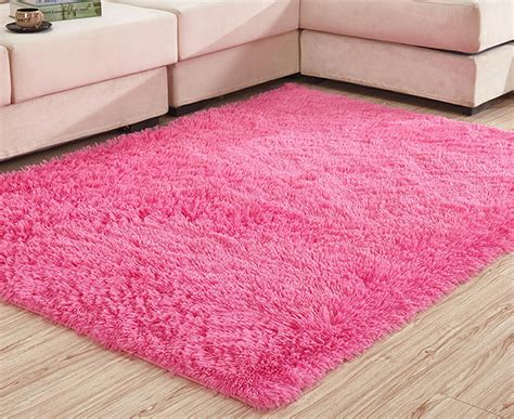 How To Clean A Fluffy Rug by Fluffy Rugs Anti Skid Shaggy Area Rug Dining Room Carpet