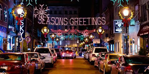 the top places to view holiday lights in philadelphia