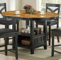 Oval storage counter height dining table contemporary dining tables