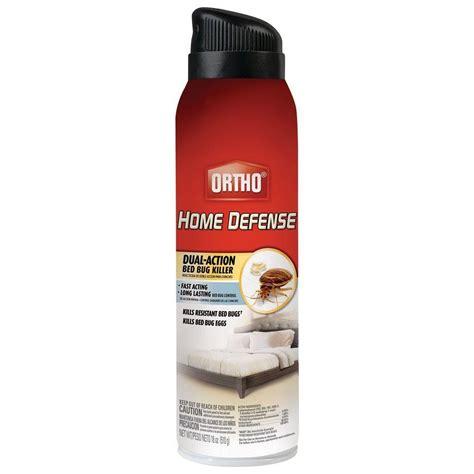 ortho home defense max  oz bed bug aerosol   home depot