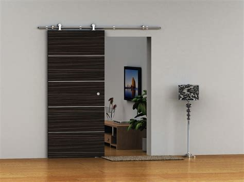 Modern Sliding Barn Doors Modern Barn Door Hardware For Wood Door Contemporary