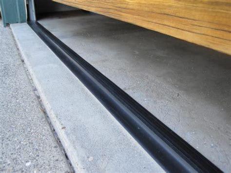 Wood Garage Door Weather Stripping How To Stop Water From Leaking In Garage Doors Universal Garage Doors