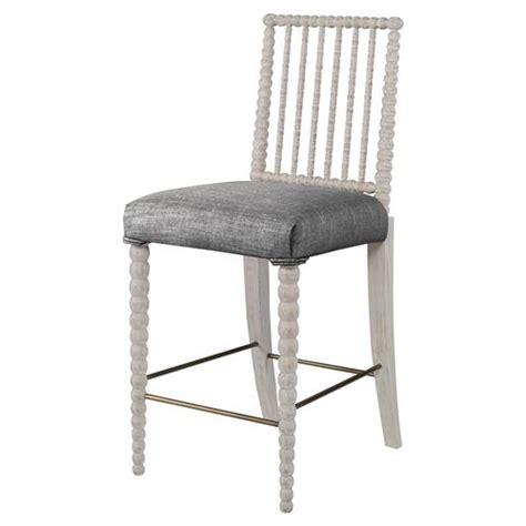 gray linen counter stool mr brown beatrix modern white bead counter stool grey
