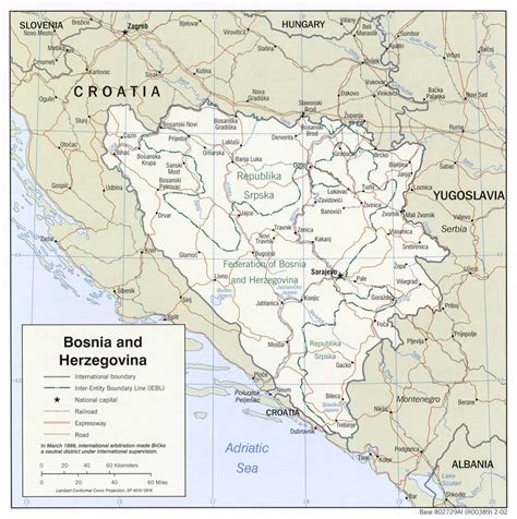 bosnia map bosnia maps perry casta 241 eda map collection ut library