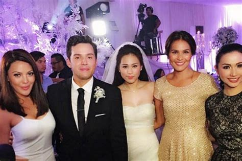 paul soriano and kc concepcion well wishers at toni and paul wedding events gallery