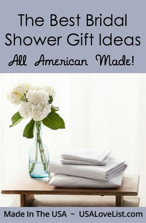 Best Bridal Shower by Best Bridal Shower Gifts Made In The Usa Usa List