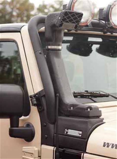 rugged ridge xhd snorkel install rugged ridge jeep wrangler jk 07 11 modular xhd snorkel kit 3 8l