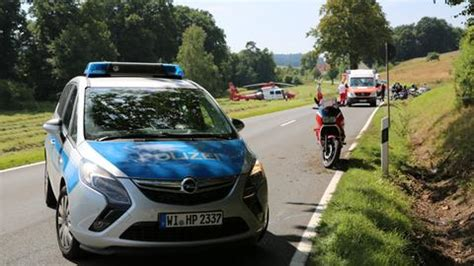 Motorradunfall Hessen by Nachrichten Aus Hessen Hessenschau De