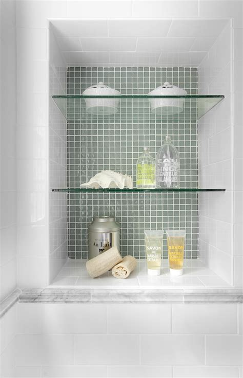 Shower Storage Shelves by Shower Niche Ideas Bathroom Traditional With Bathroom