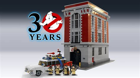 Lego Ghostbusters House by Lego Ideas Ghostbusters 30th Anniversary
