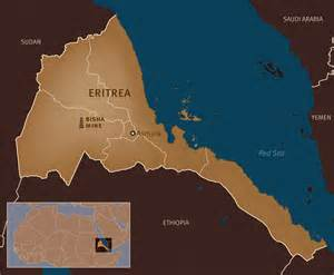eritrea map eritrea mining investors risk use of forced labor human rights