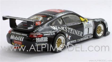 minichs porsche 996 gt3 r pzk warsteiner 24h nurburgring 2001 gift box porsche zentrum
