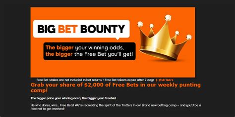 where does the bounty live 888sport big bet bounty vip bet