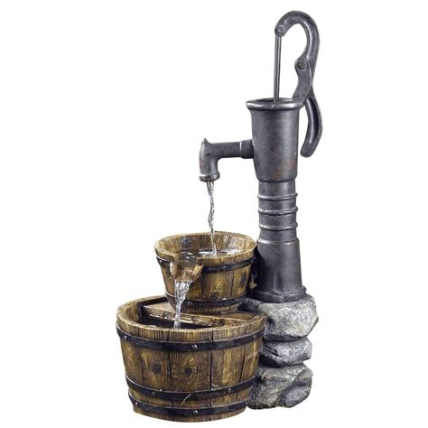Antique Kitchen Faucets Fountain Cellar Old Fashion Water Pump Fountain Fcl005