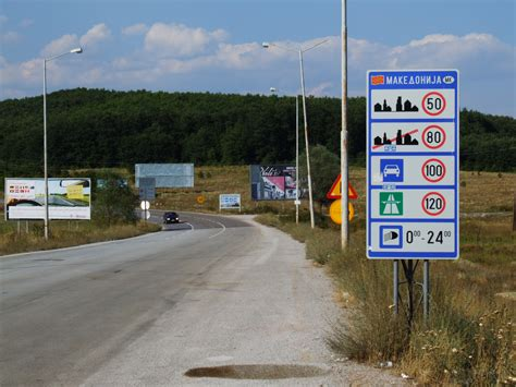 Border Crossings file road m4 in mk border crossing jpg wikimedia commons