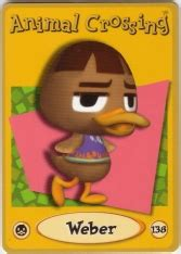 weber nookipedia  animal crossing wiki