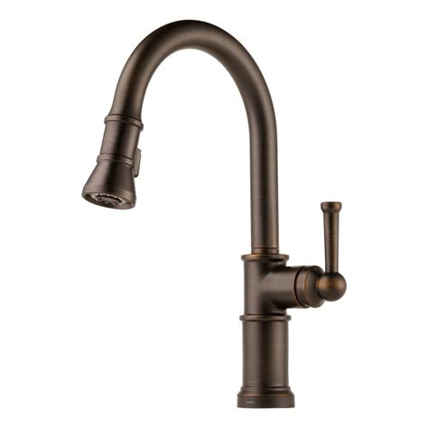 brizo kitchen faucet faucet 64025lf rb in venetian bronze by brizo