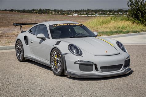Porsche 991 Gt3 Rs by Vorsteiner Porsche 991 Gt3 Rs Is So Dapper
