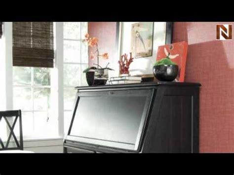 drop lid desk station american drew camden black