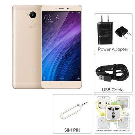 Xiaomi Redmi 4 X Prime Gold Ram 3gb Rom 32gb Ori Murah xiaomi redmi 4 prime android smartphone 5 inch fhd 64bit octa cpu 3gb ram dual sim