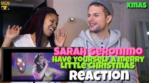 sarah geronimo    merry  christmas xmas reaction youtube