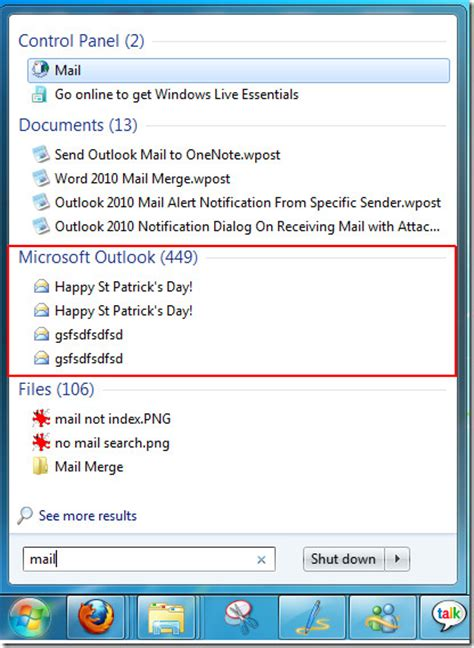 Outlook 2010 Email Search Not Working Outlook 2010 Search Indexing