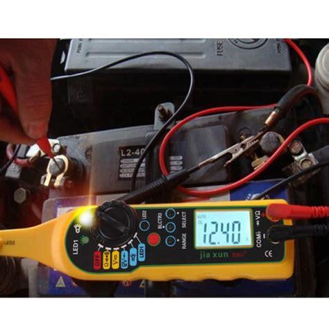 Automotive Multimeter multi function auto circuit tester multimeter l car