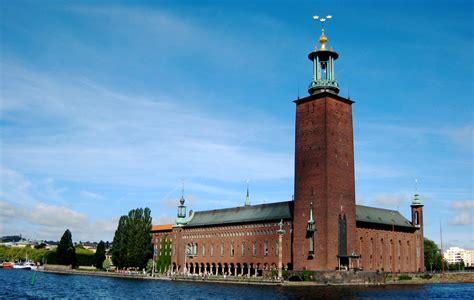 stadshuset l h 244 tel de ville stockholm 224 la carte
