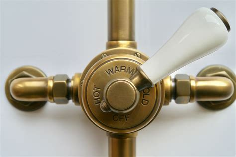 Brass Faucets Kitchen london exposed shower valve set chadder amp co