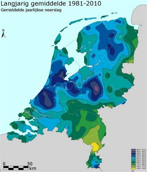 netherlands climate map netherlands climate map