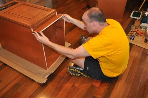 how to install toe kick boards for kitchen cabinets ehow build diy solid wood kitchen cabinets from ipc society