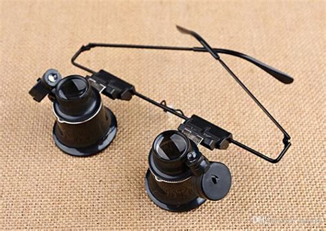 mounted magnifying glass with light discount binoculars mounted led light with 20 times