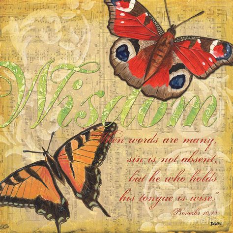 Top Home Decor Blogs by Musical Butterflies 4 Painting By Debbie Dewitt