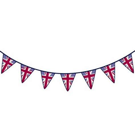 Nursery Wall Stickers Uk union jack bunting wall stickers