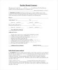 rental contract 10 free pdf word documents download