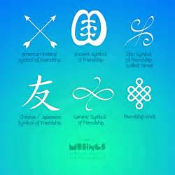 symbols of friendship musings blog