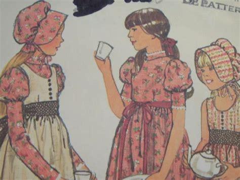 bonnet pattern little house sewing pattern little house on the prairie bonnet holly