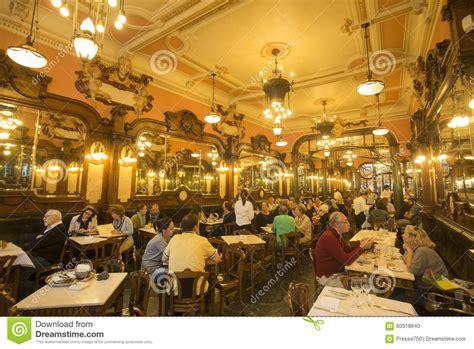 cafe majestic porto restaurant in the ribeira editorial image cartoondealer