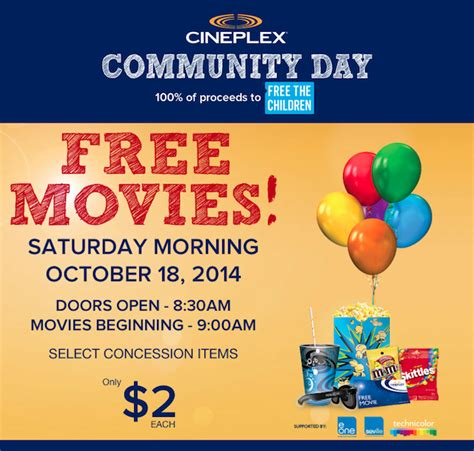 cineplex free movie day free movie day in vancouver 187 vancouver blog miss604