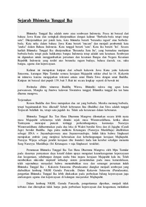 biografi kapitan pattimura bahasa jawa sejarah bhinneka tunggal ika