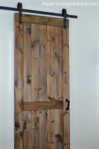 how to install barn doors diy barn door